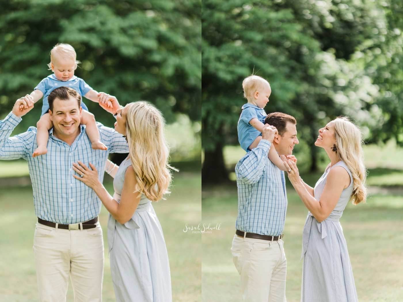 Nashville Child Photographer | Hunt's One Year Session