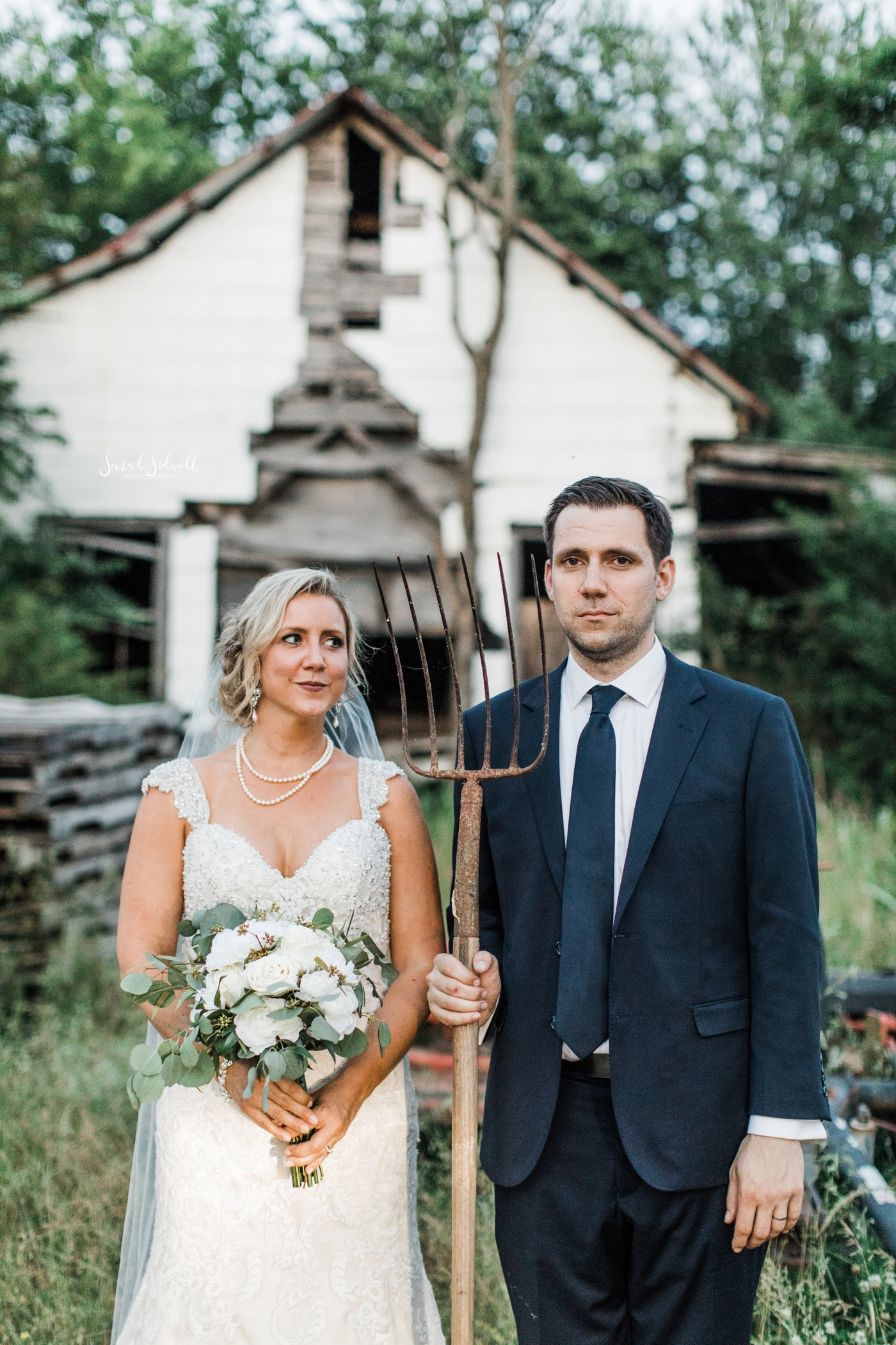 Nashville Family Farm Wedding | Brianne & Chris