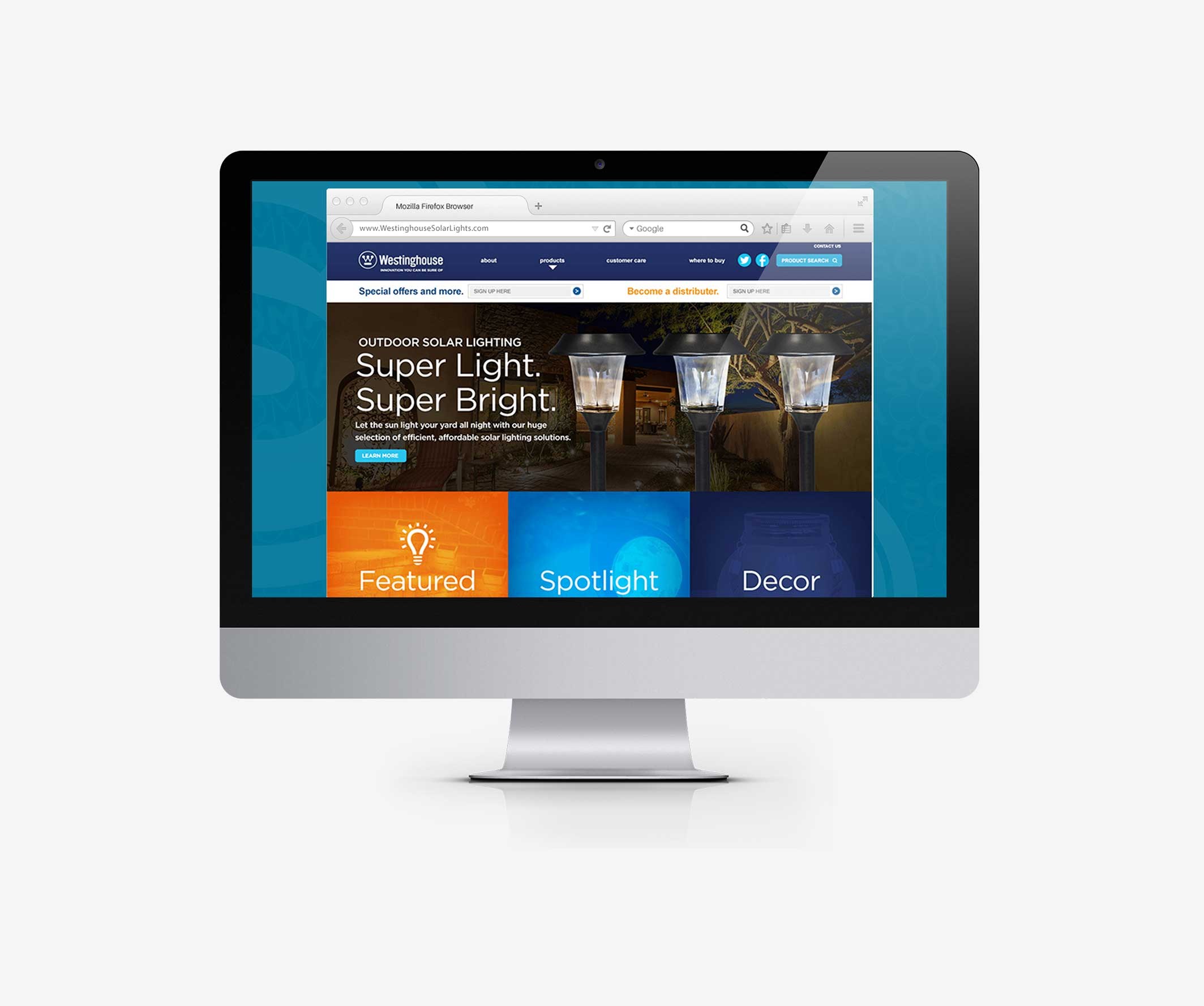 New e-commerce website design and development