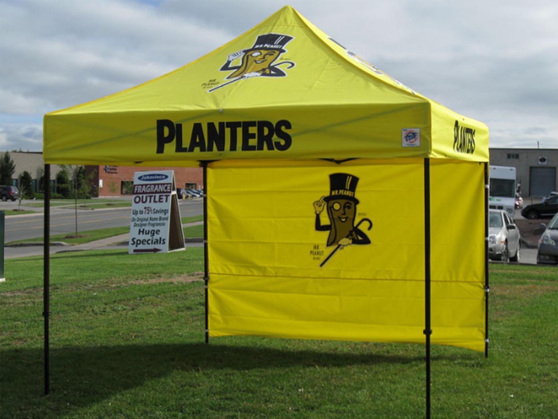 Planters Peanuts Tent