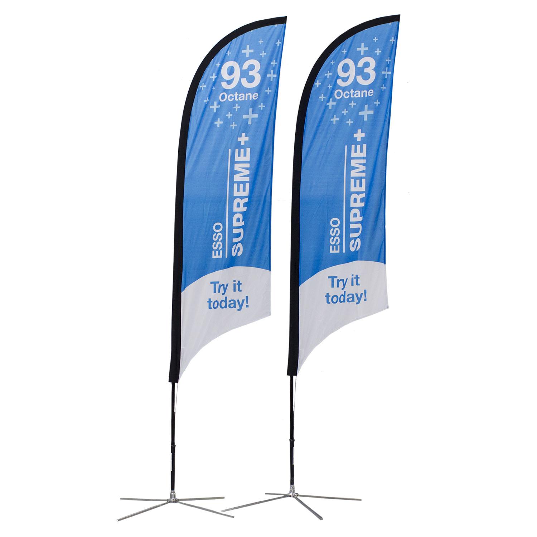 Esso Soft Signs Custom Flags