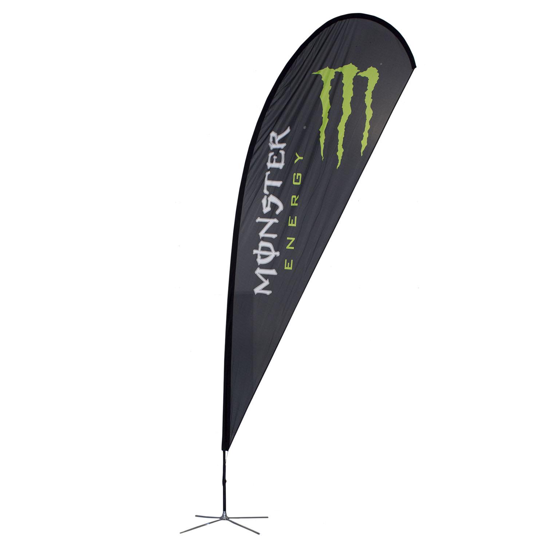 Monser Energy Soft Signs Custom Flags