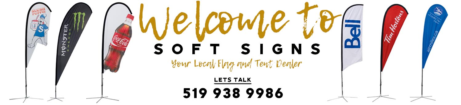 Soft Signs Advertising Welcome Banner