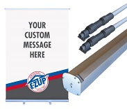 E-Z UP® ROLL-UP BANNERS