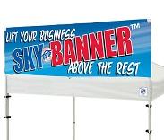 E-Z UP® SKY BANNER™