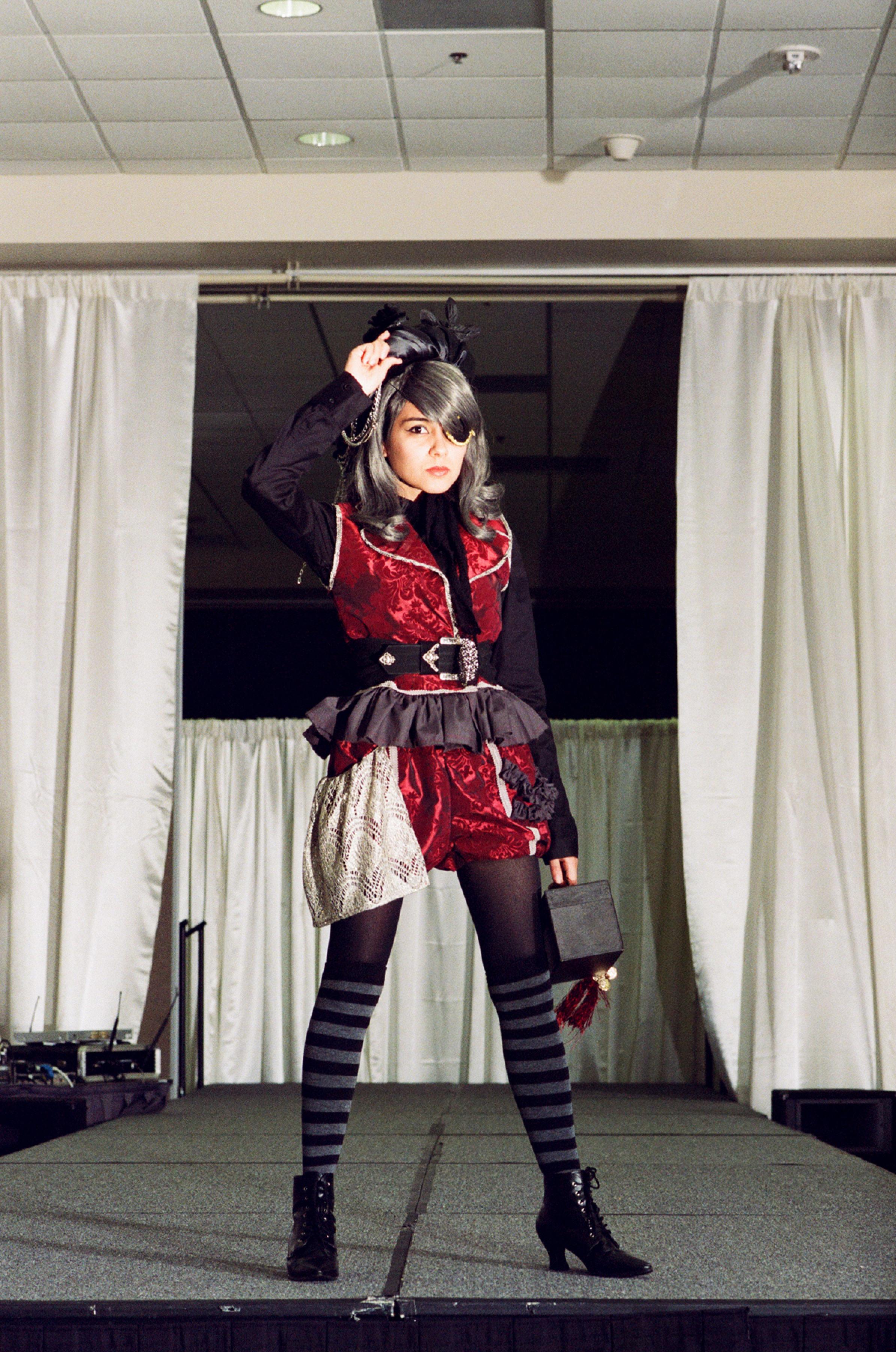 Lolita fashion show in Orange County, CA.
