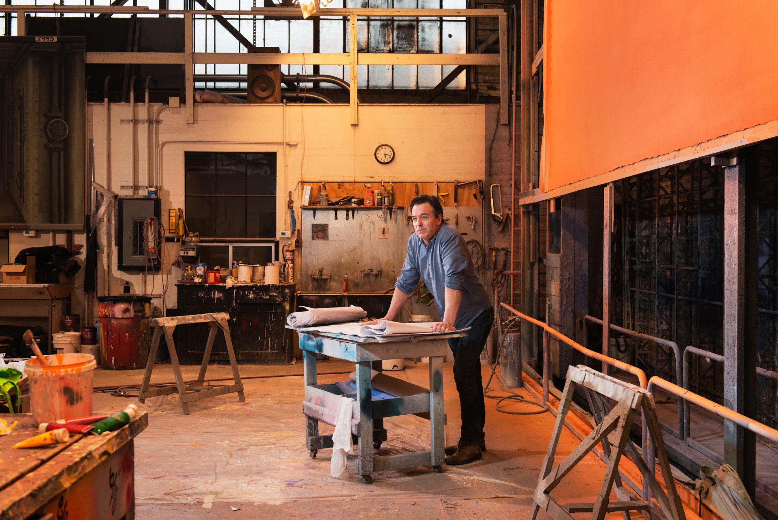 Derek McLane - Production Designer