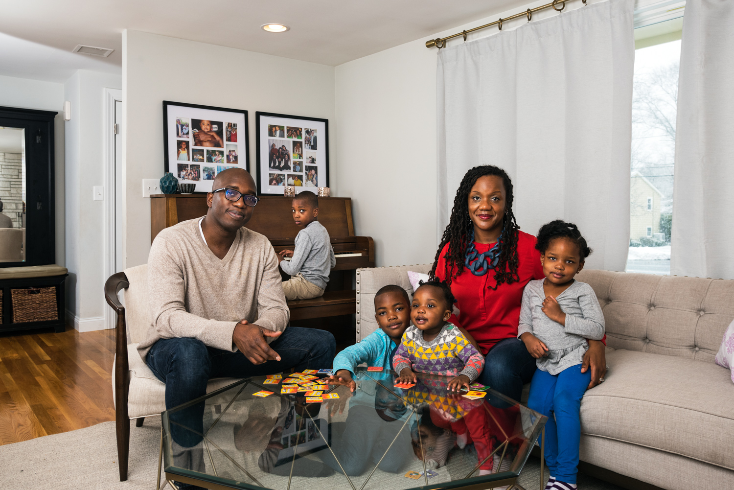 Ohene, Regine and Family - Homeowners