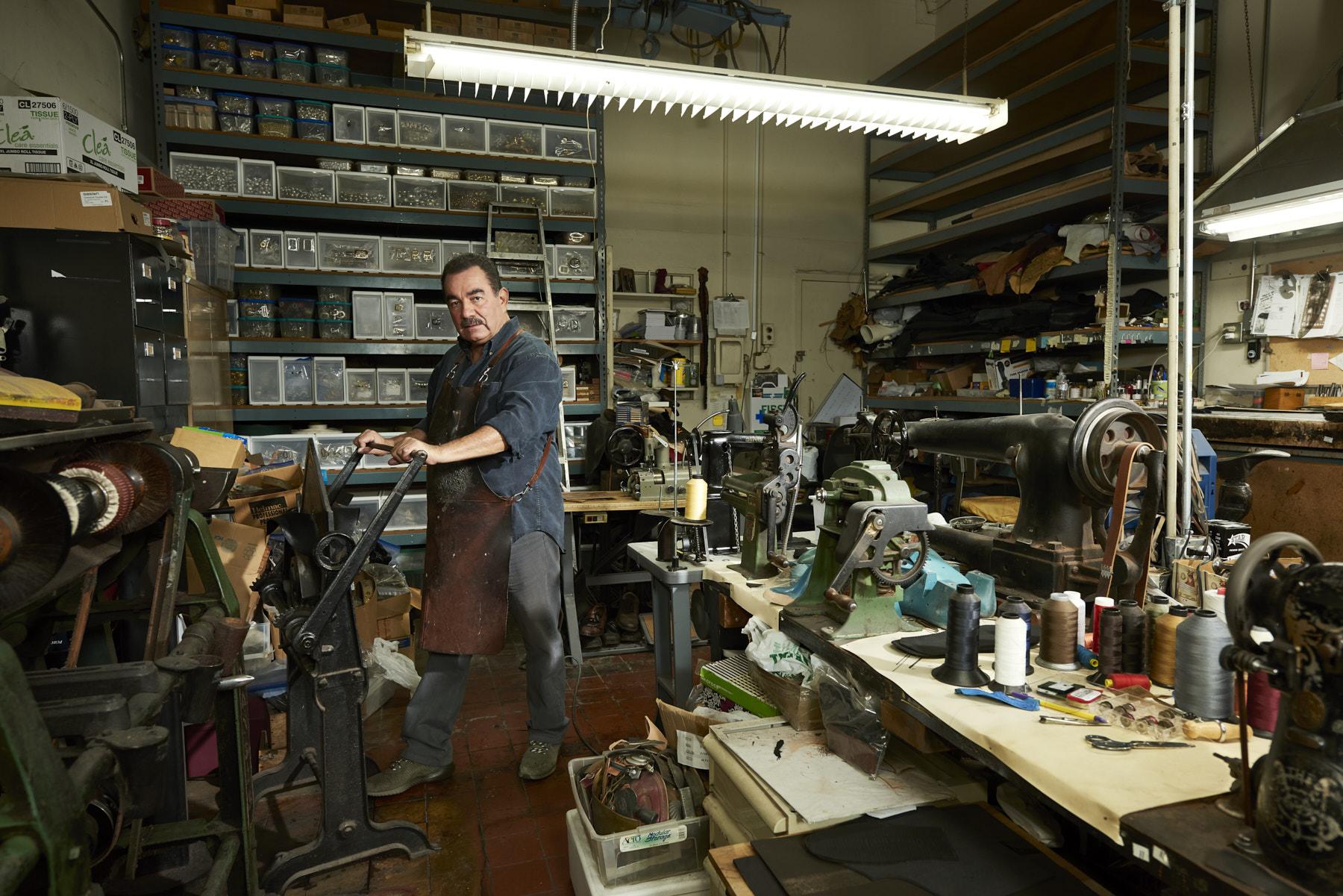 Maurico Osario - Shoe Maker