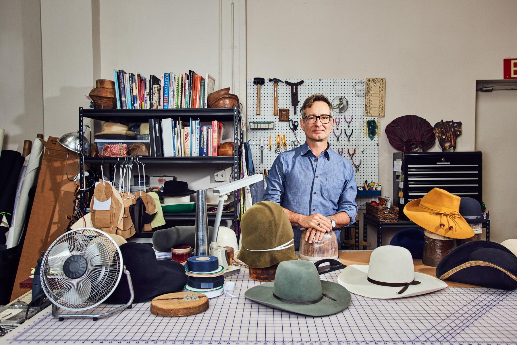 Patrick Rogers - Hatmaker