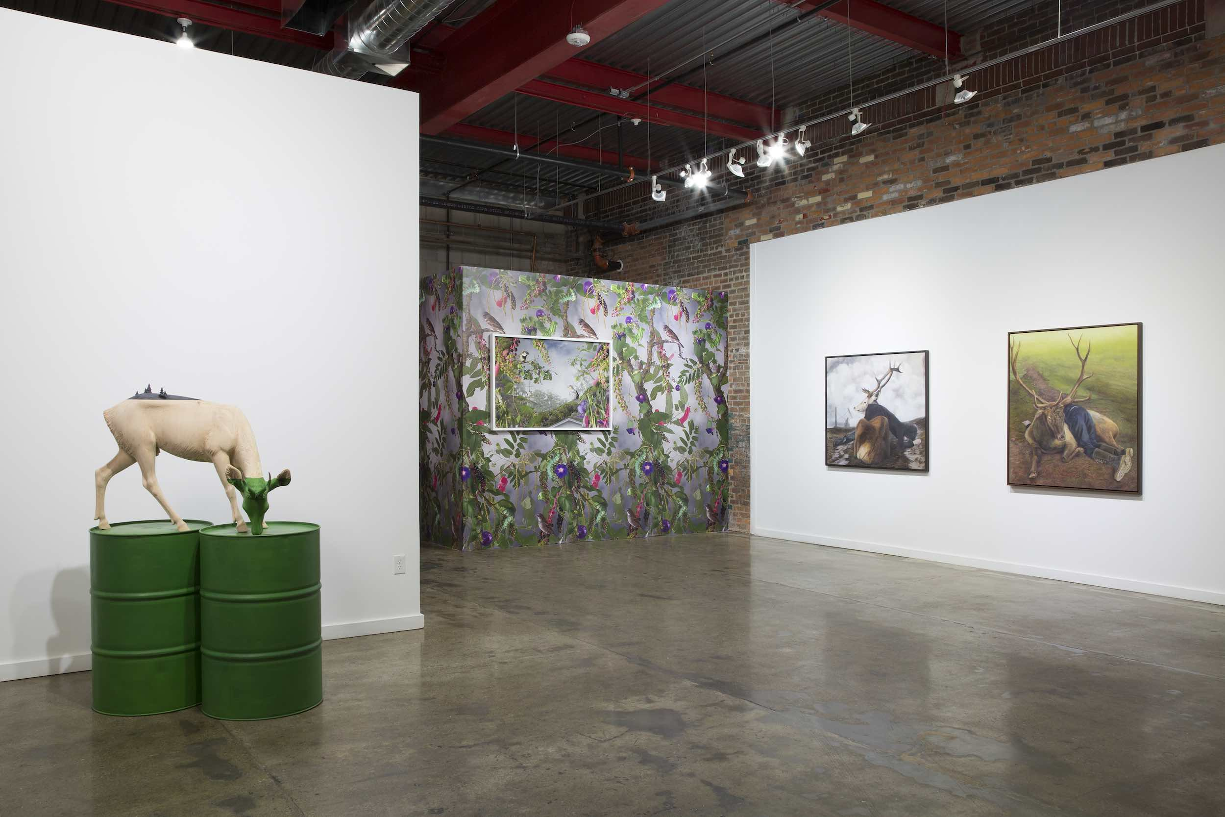 Installation view, PD Rearick