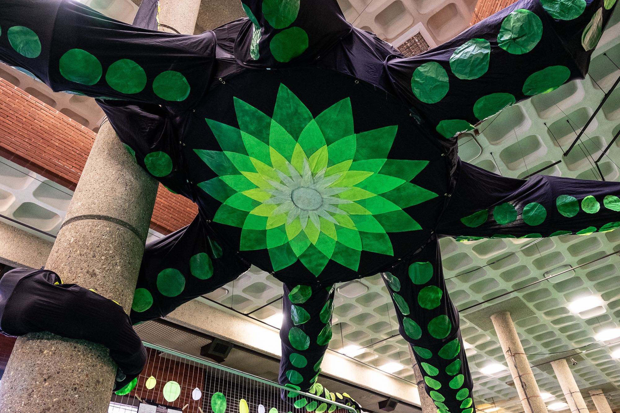 The BP Kraken from below, by Ron Fassbender