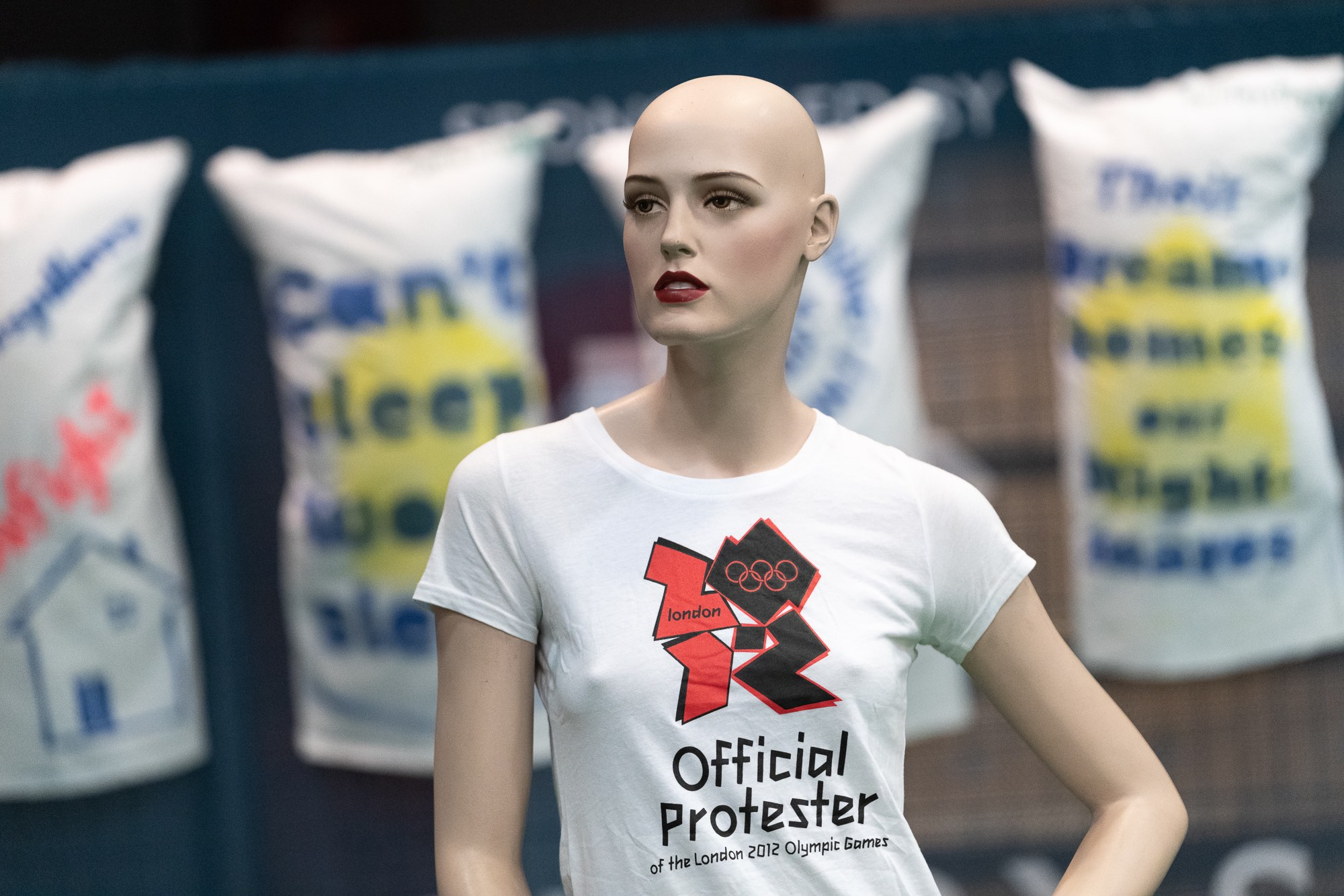 Official Olympics Protester, by Ross Fassbender