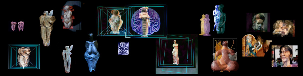 Margot Pilz's  HERSTORY – 36,000 Years of Goddesses and Idols,  2011/2012. Video with sound. Courtesy of the artist.