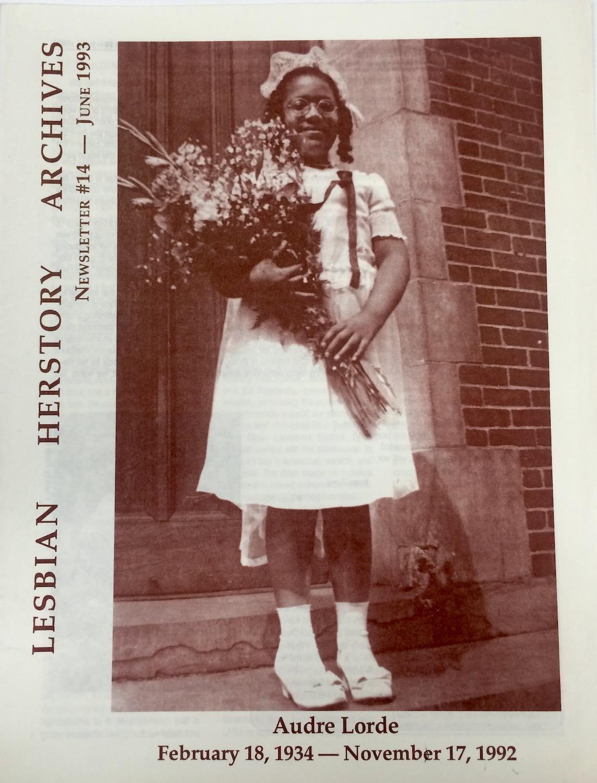 Lesbian Herstory Archives Newsletter #14, June 1993, Courtesy Lesbian Herstory Archives
