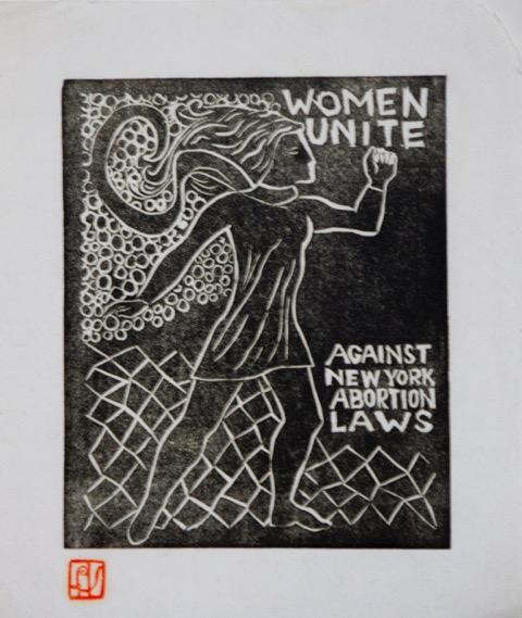 Lucia Vernarelli, Women Unite, circa 1970. Courtesy Paul Linfante.