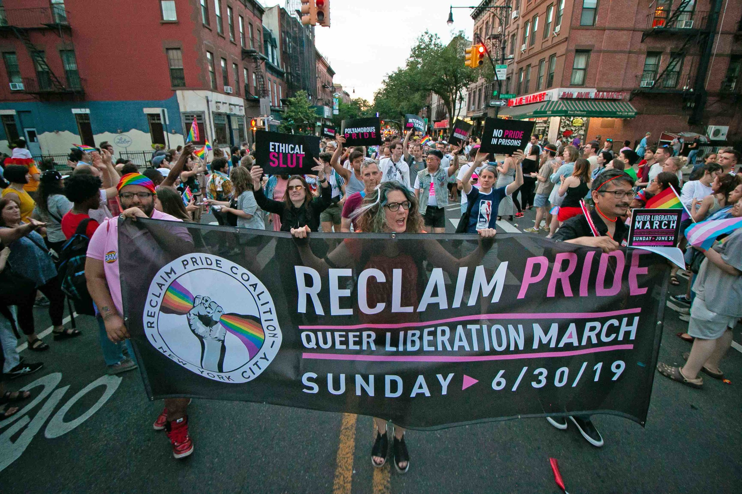 Photo courtesy of Reclaim Pride.