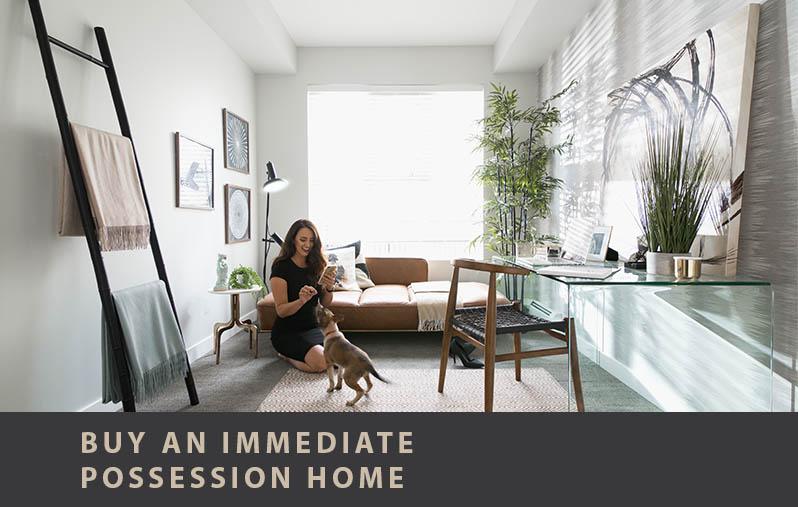 Immediate Possession Homes
