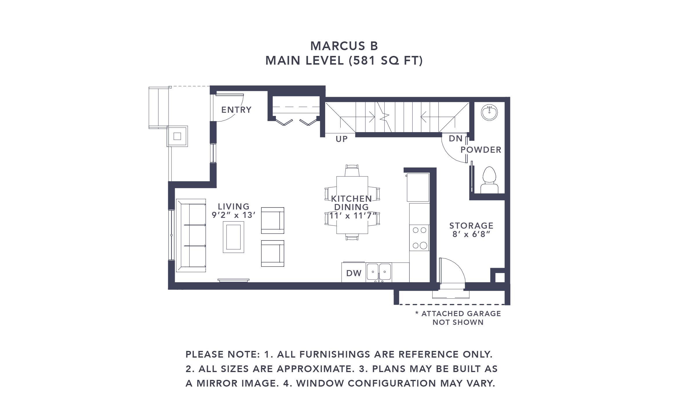 Airdrie Townhome Floorplan Marcus B