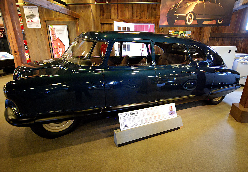 1946 Stout Scarab Experimental at the Gilmore Car Museum - 2011