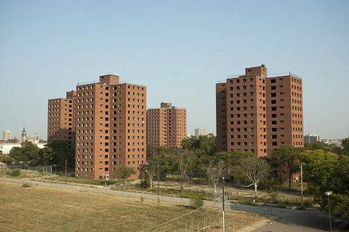 Brewster-Douglass Hosuing Projects - Detroit, Michigan-1952 (Demolished)