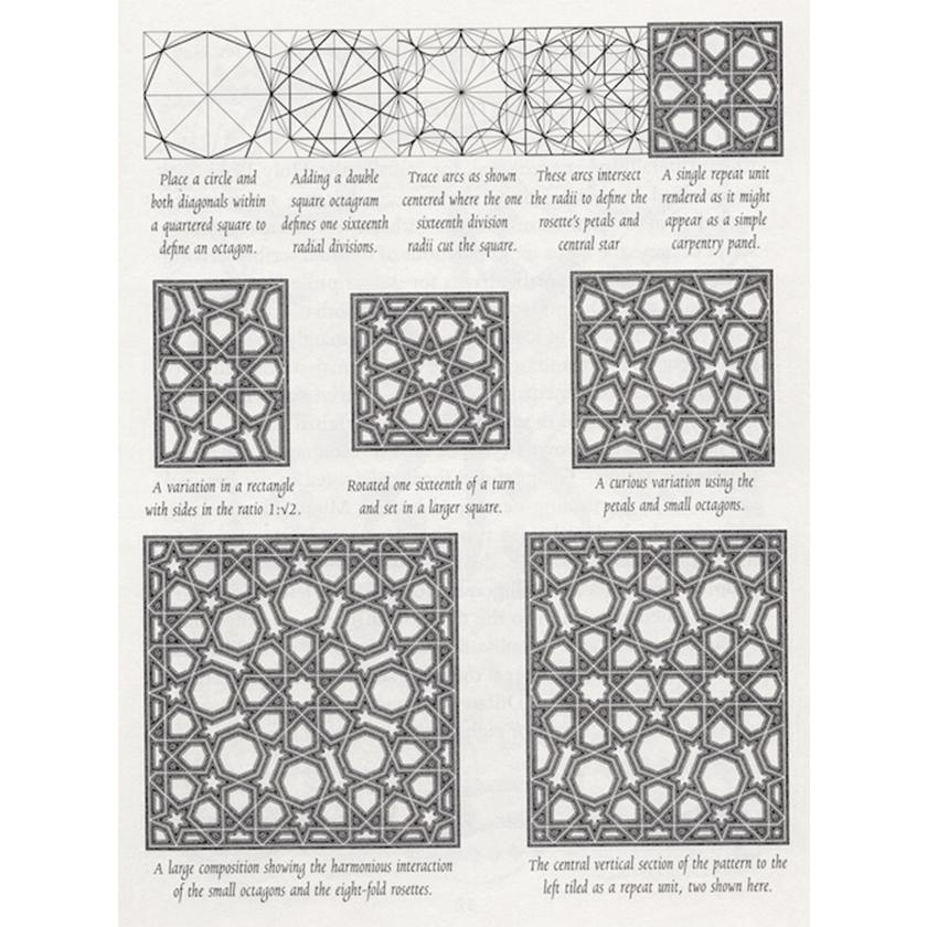 Complex Islamic Geometric Patterns.