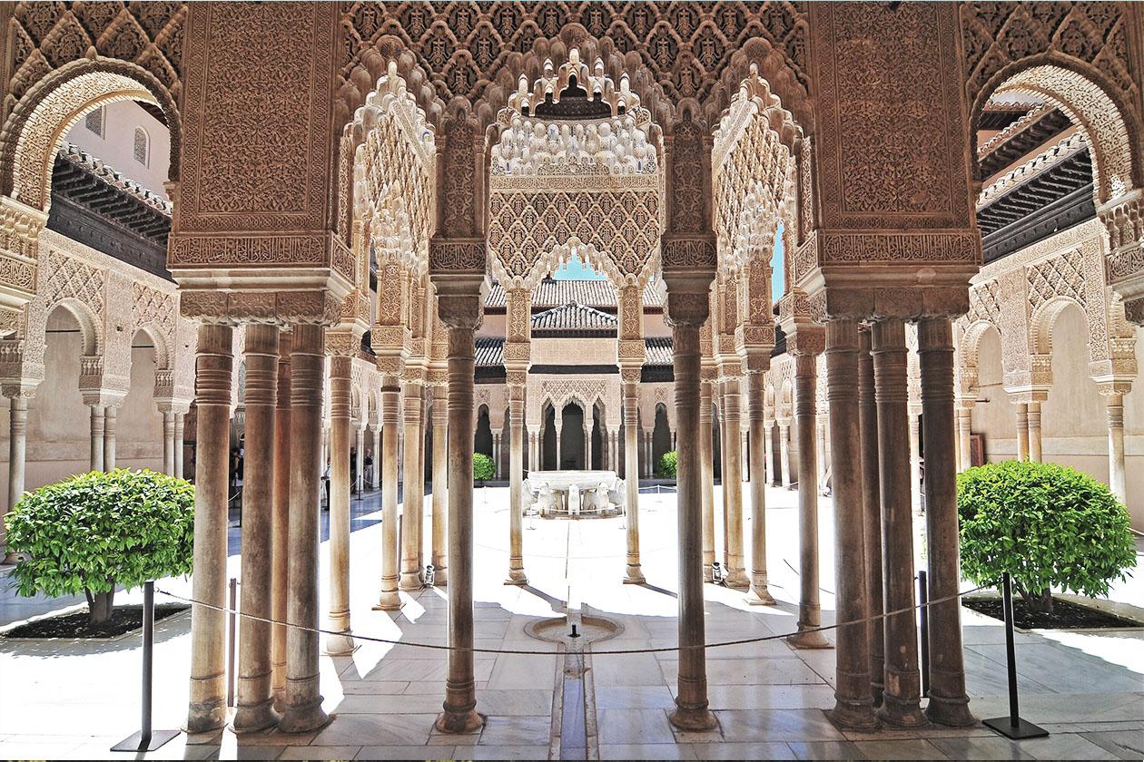 Interior of Alhambra