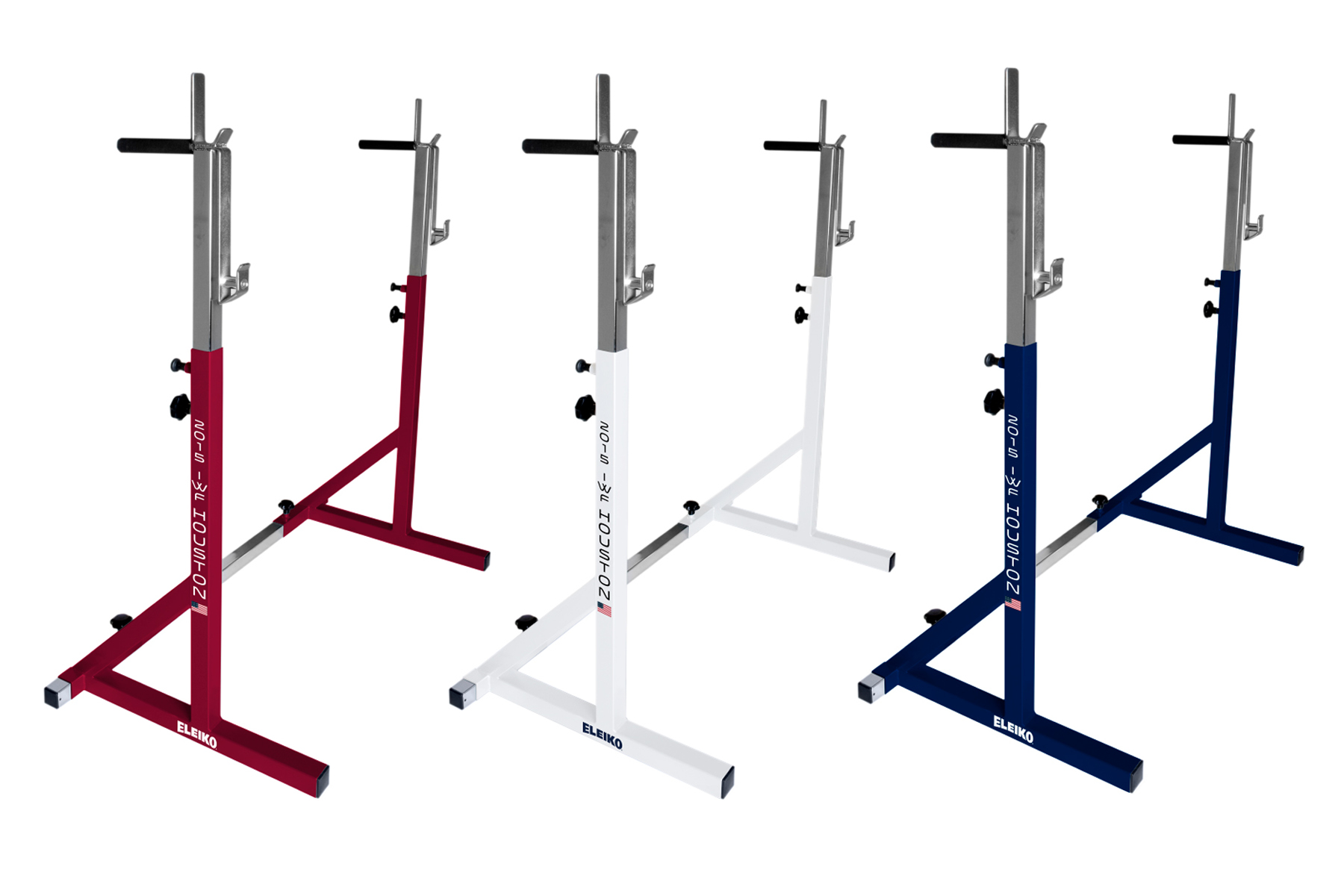 Co-Branded competition racks.