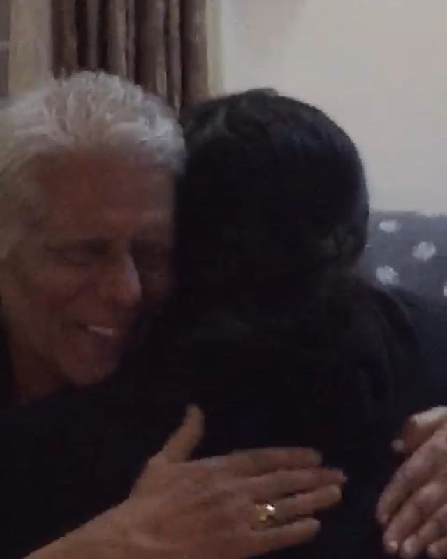 Stills from a video that makes me tear up every time I watch it. I got a chance to surprise my grandparents with a quick trip to India.