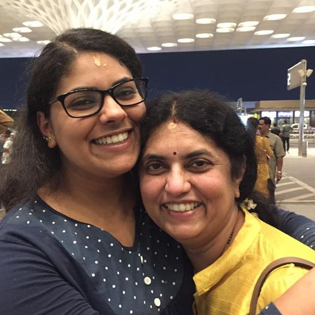 Every day should be Mother's Day so I can to celebrate my beautiful, trailblazing, inspiring Amma. She called right as I was typing this and it's given me even more feels. I miss and love her so much! She is everything.