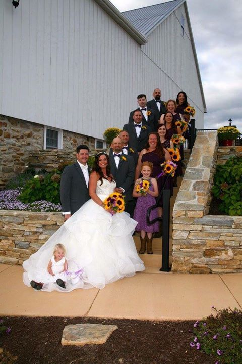 Monica and Jim Bridal Party on steps.jpg
