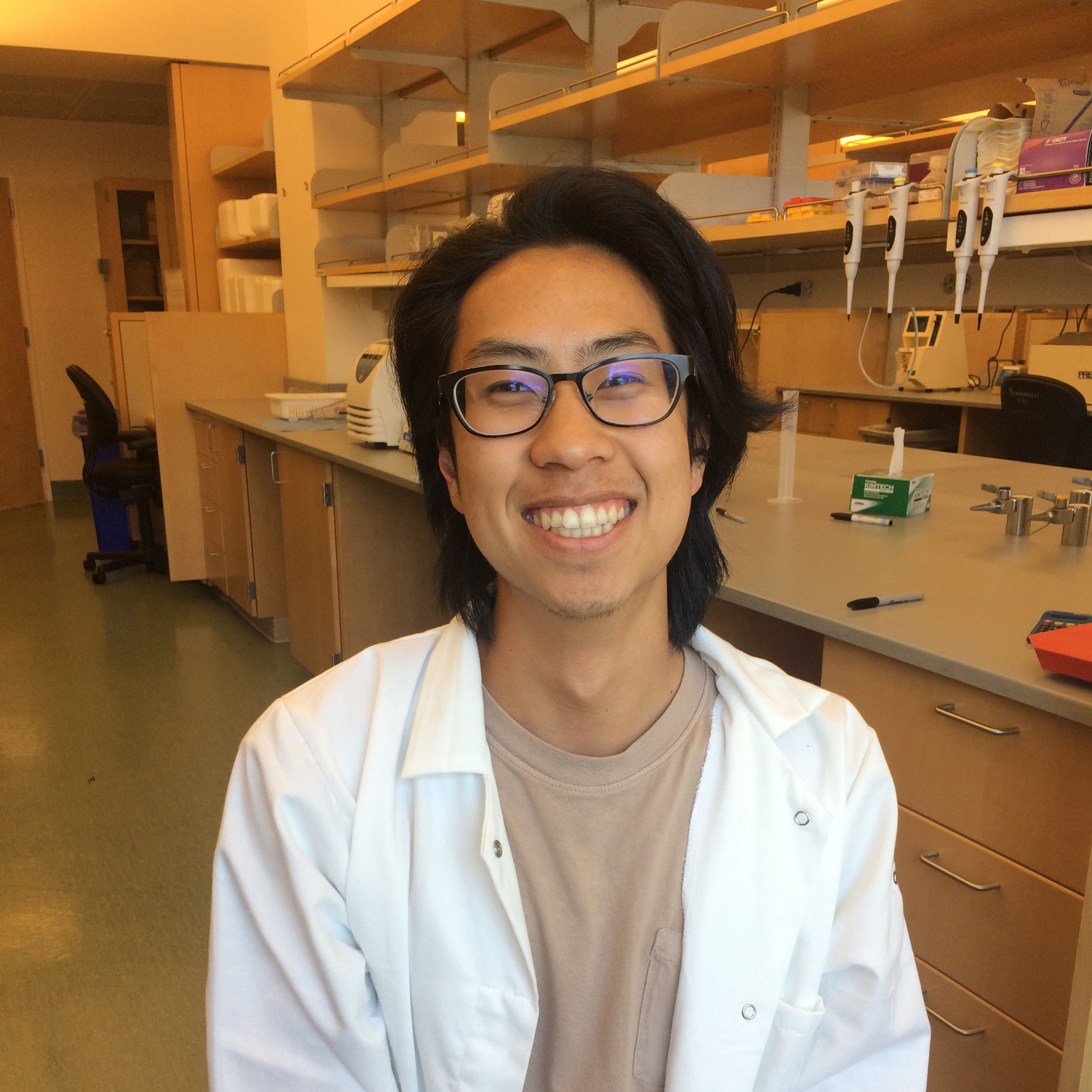 Greg Chin, technician (with Poskanzer Lab)