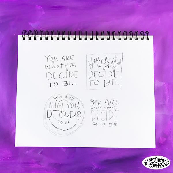 Hand-Lettering Tips For Beginners: Where Do You Begin