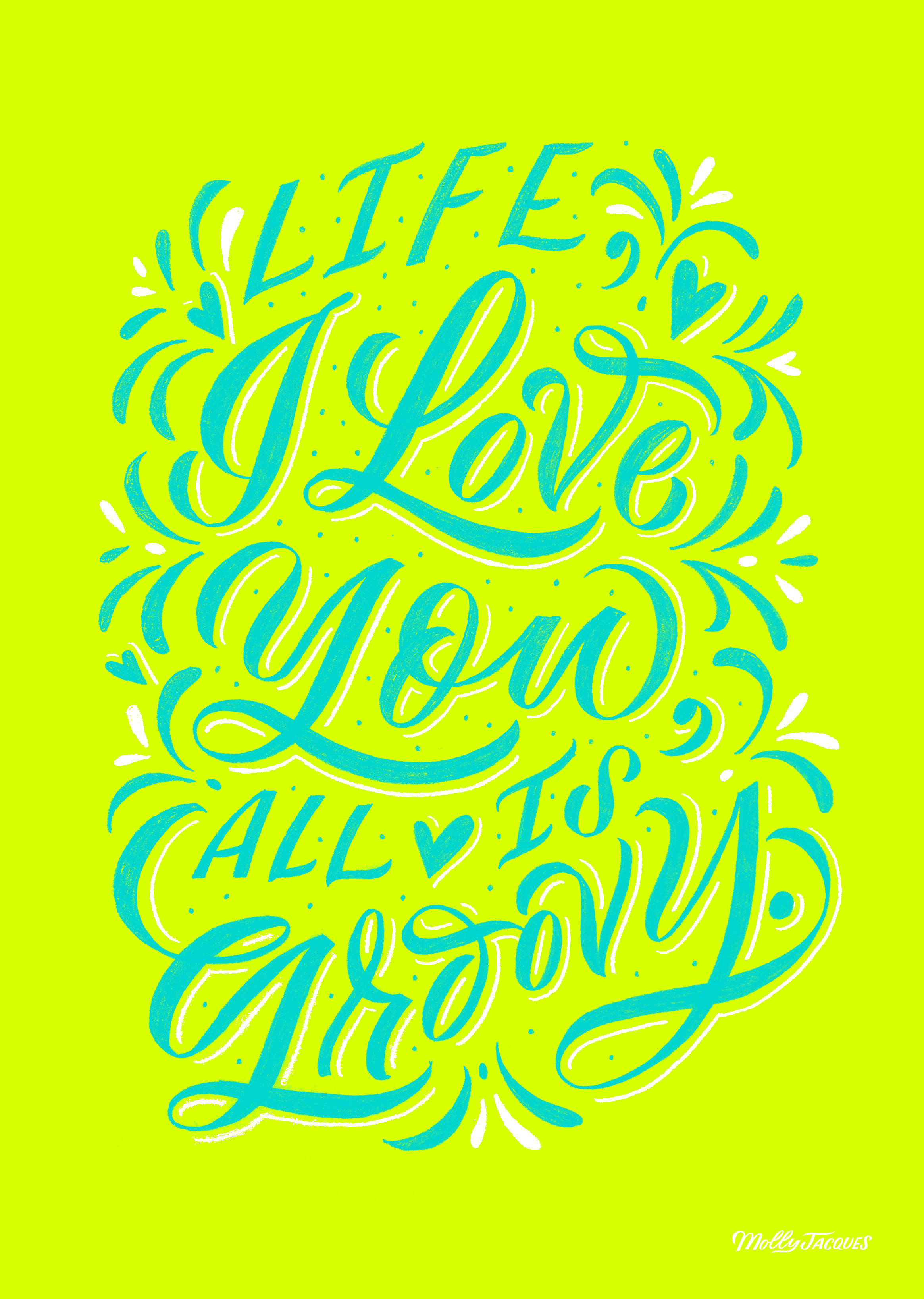 Molly Jacques Lettering