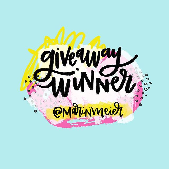 UPDATED WITH A WINNER! ⠀ ⠀ @marinmeier CONGRATS! DM us a mailing address where we can send your @sugarandtype planner and we'll get it right out to you!⠀ ⠀ ...⠀ ⠀ Happy Friday, lettering lovers! ⠀ ⠀ Ilana is giving away one of her gorgeous and fun planners with lots of lettering throughout to inspire you every month! To enter the giveaway: Follow Ilana on Instagram (@sugarandtype) and tag a lettering/planner lover friend in the comments below here on @handletteringforbeginners! A winner will be randomly selected and announced next Friday (10/27)! ⠀ ⠀ ...⠀ ⠀ If you're ready to dive in but need a jumpstart, be sure to enter your email on HandletteringForBeginners.com to get our free 4-day email course, Launch Your Lettering Practice! 👍 ⠀ ⠀ #handlettering #lettering #handlettering #letteringco #madebyhand #goodletters #handletteredtype #drawletters #digitalart #handletteringforbeginners