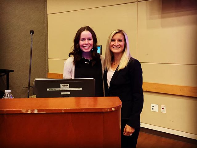 It was a pleasure to present at the  USRT conference today with my student research assistant Abbey! We presented our research on bone density in endurance runners. It has been great to mentor her on research; she is doing great things, has been a great help, and she's only a first year student! Thanks to the USRT for having us! As always, it was a well-organized and informative event! #weberstateradiologicsciences #usrt #radiologictechnologist #bonedensity #runners #health #research #weberstate #runnerlife #healthyrunner #bonehealth #RT #conebeamct #dexa #femaleathletetriad #weareweber #wsu