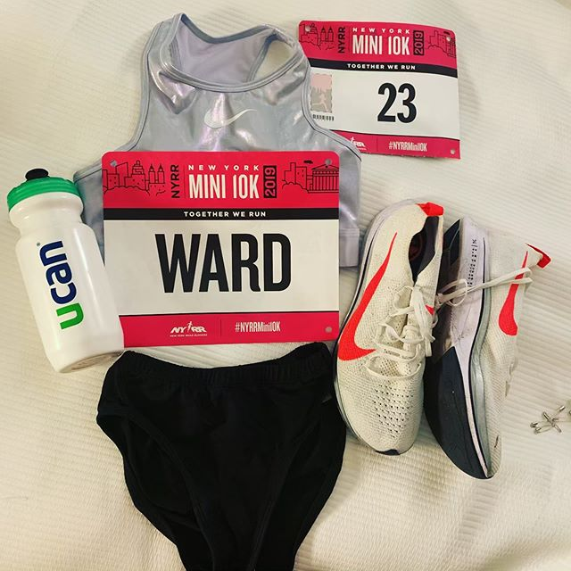 Running in NYC tomorrow morning bright and early! ☀️ the race will be streamed on USATF.tv starting at 7:40am ET. I'm so excited to line up with such an amazing field of women!! #Mini10k #NYC #teamucan @genucan #womenwhorun #nyrr #newyorkcity #runnergirl #nike #justdoit #speedytay