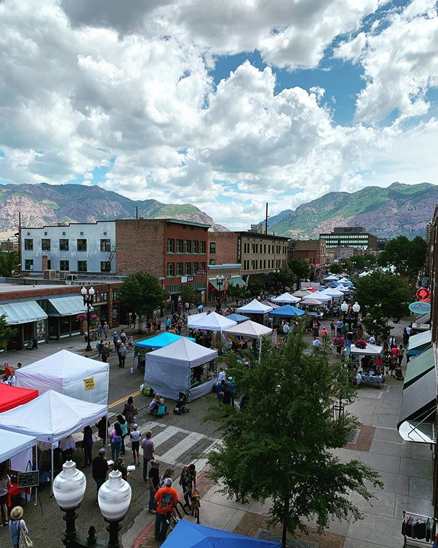 Ogden you are Beautiful!!! #thisisogden #myogden #ogdenfarmersmarket #summerishere #ogden