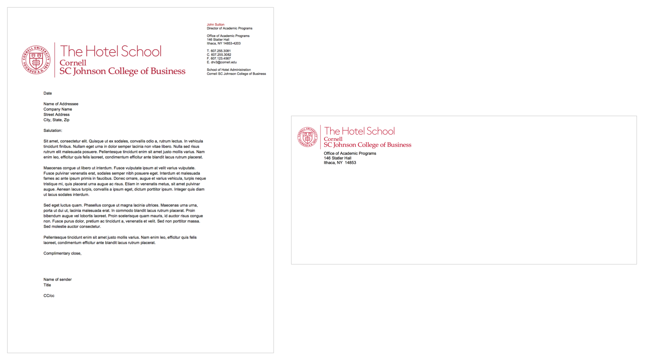 The Hotel School Mail