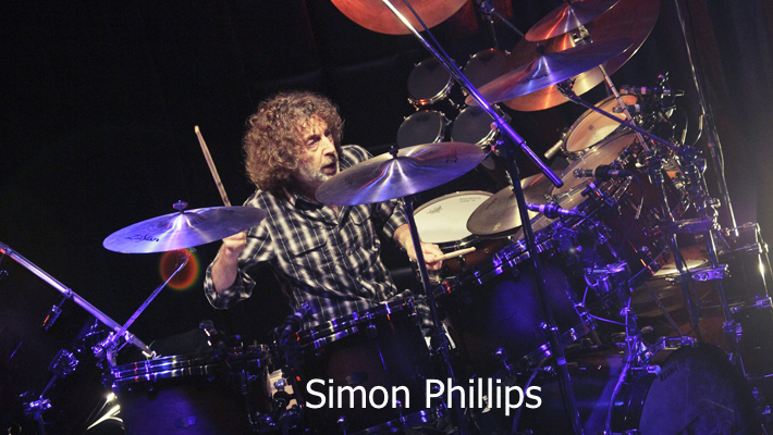 Simon Phillips and Protocol II Tyler Soifer Audio engineer FOH engineer Tour manager
