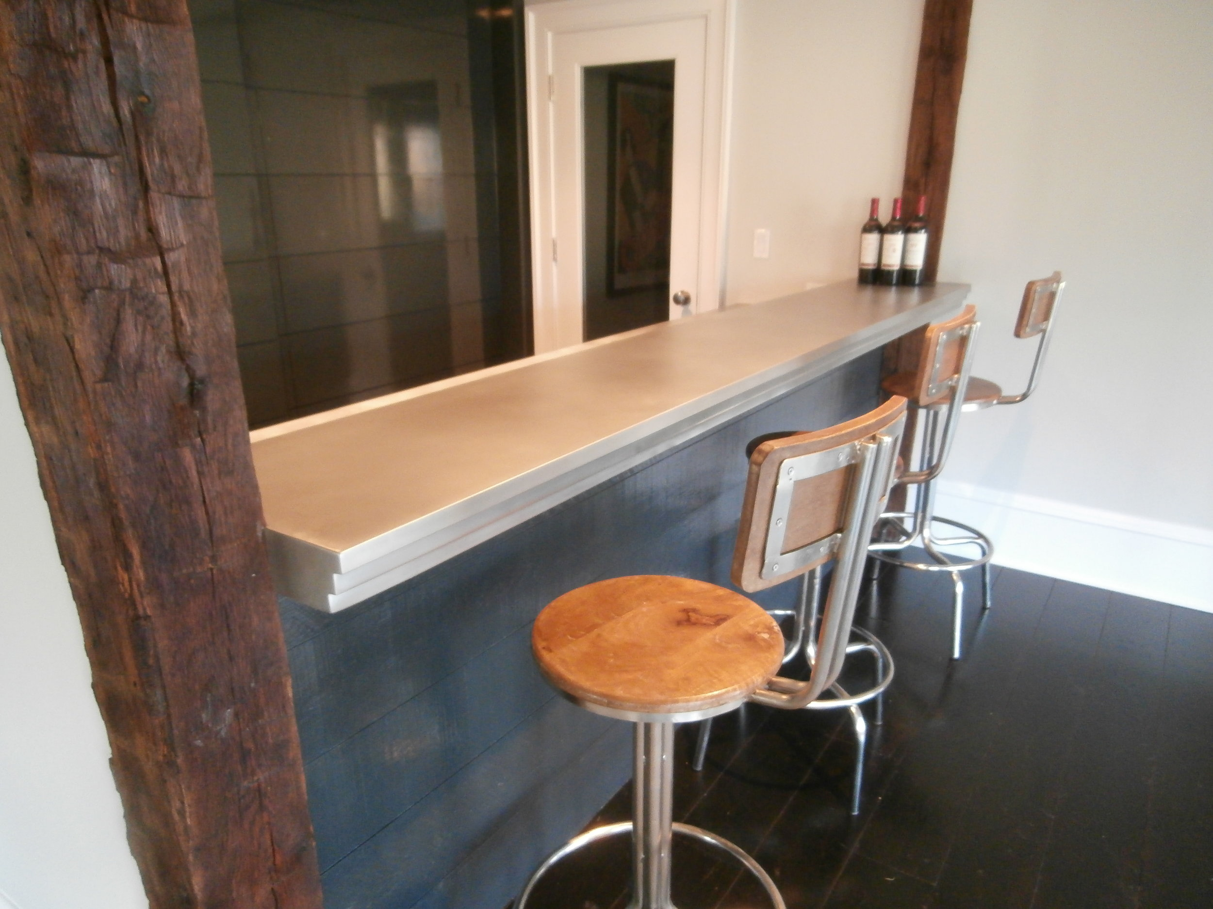 Pewter Bartop with Matte Finish