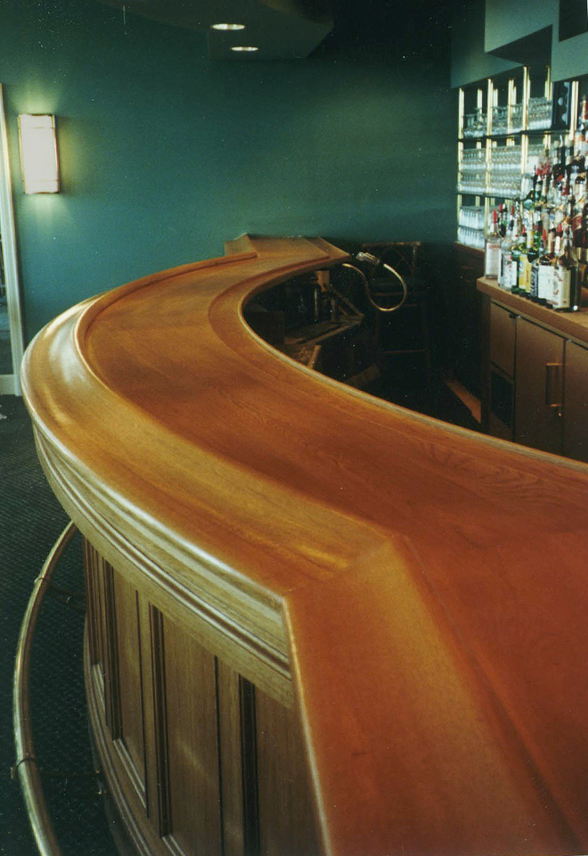 Cherry Bar Top at Ardsley Country Club