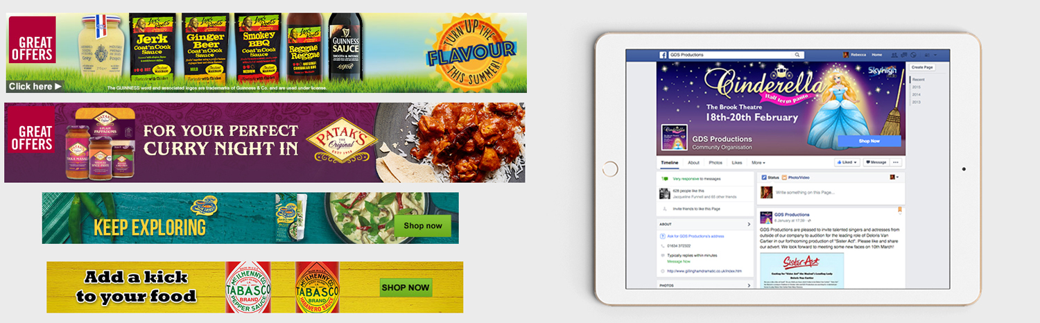 WEB BANNERS & SOCIAL MEDIA IMAGERY