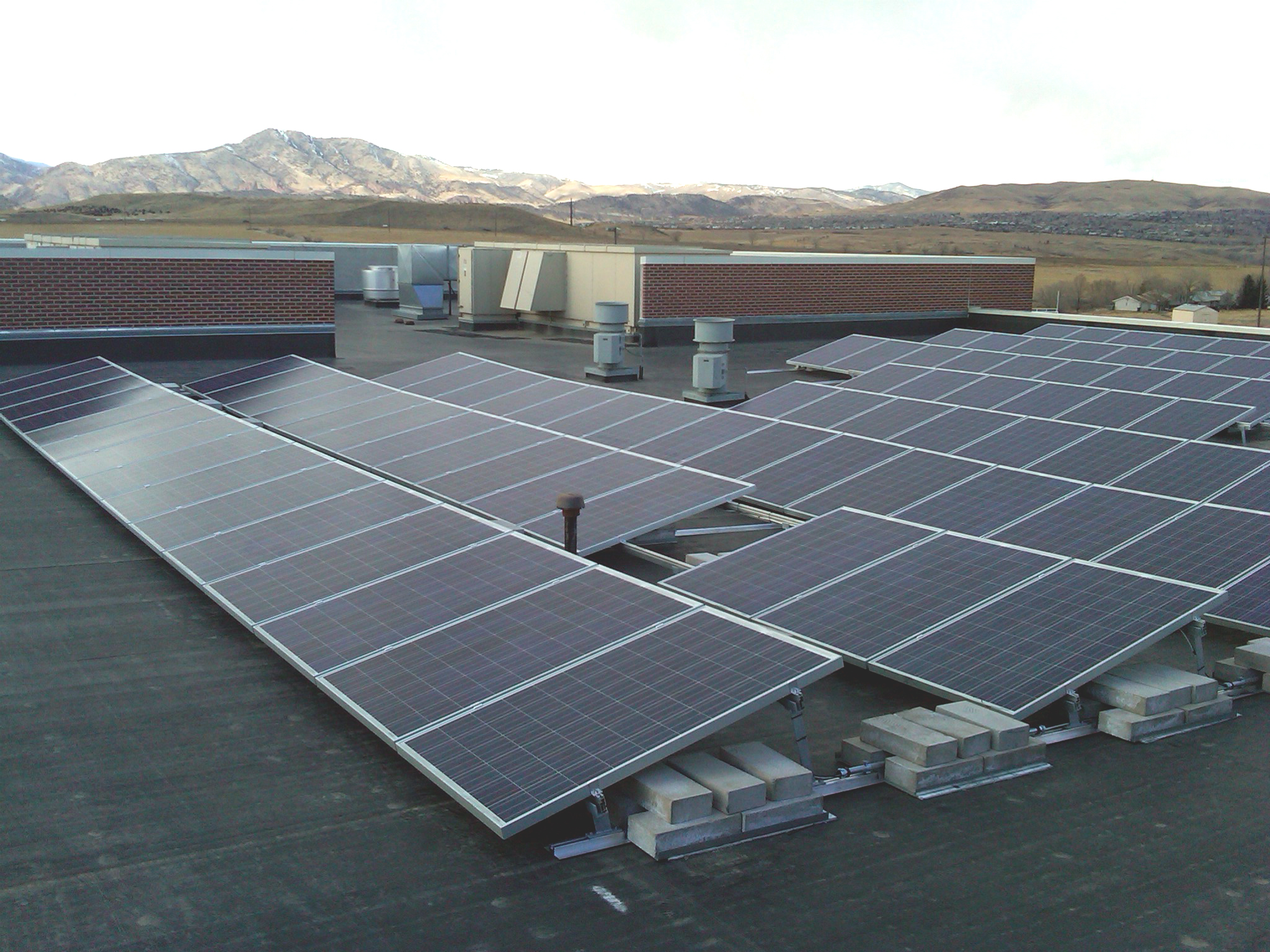Jeffco Schools Alternative Energy Project. Various Locations