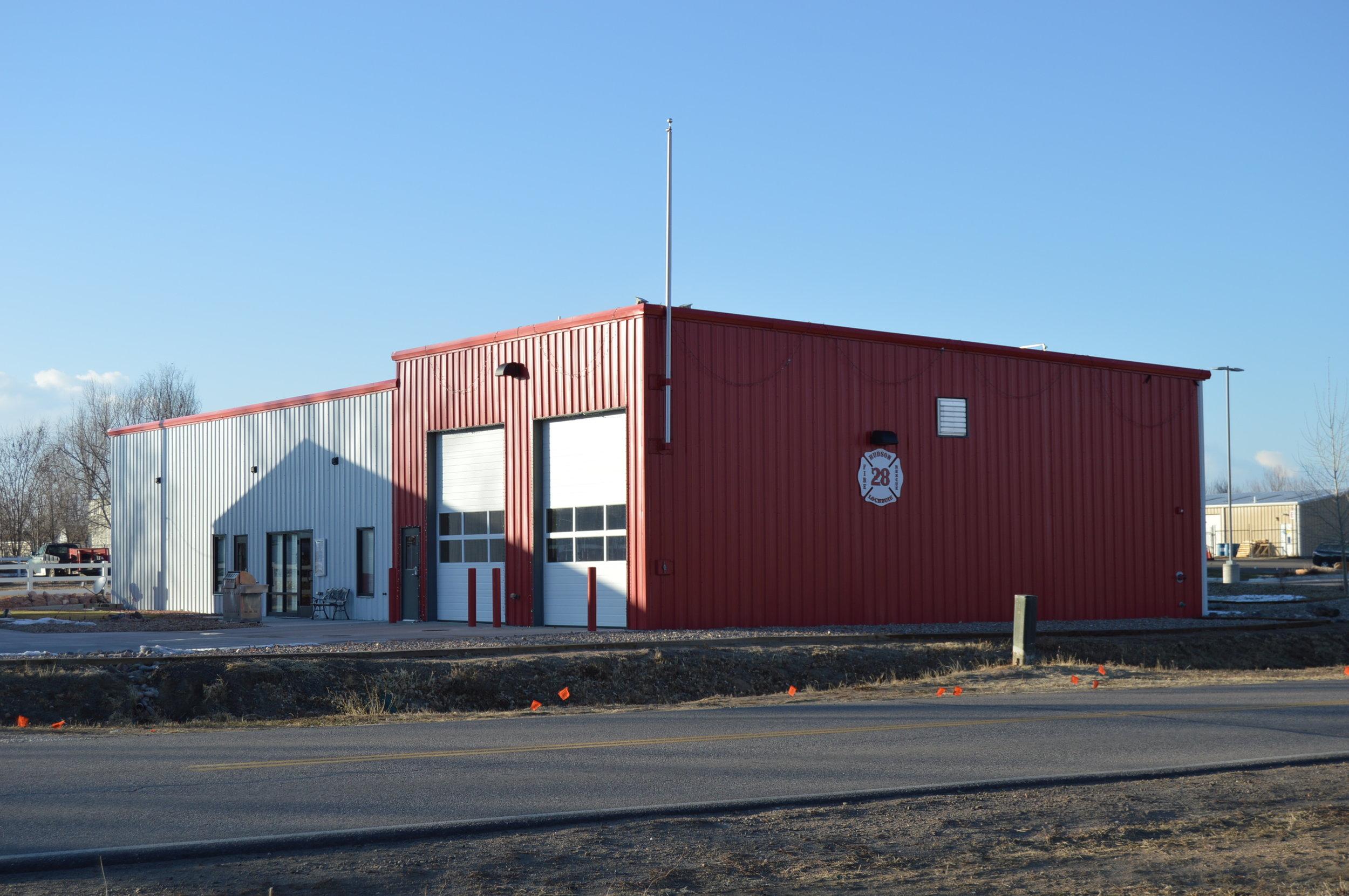 Lochbuie Fire Station. Lochbuie, CO