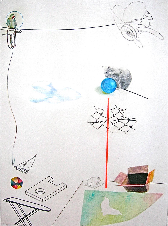 White Bear/Blue Ball/Shadows in a Box