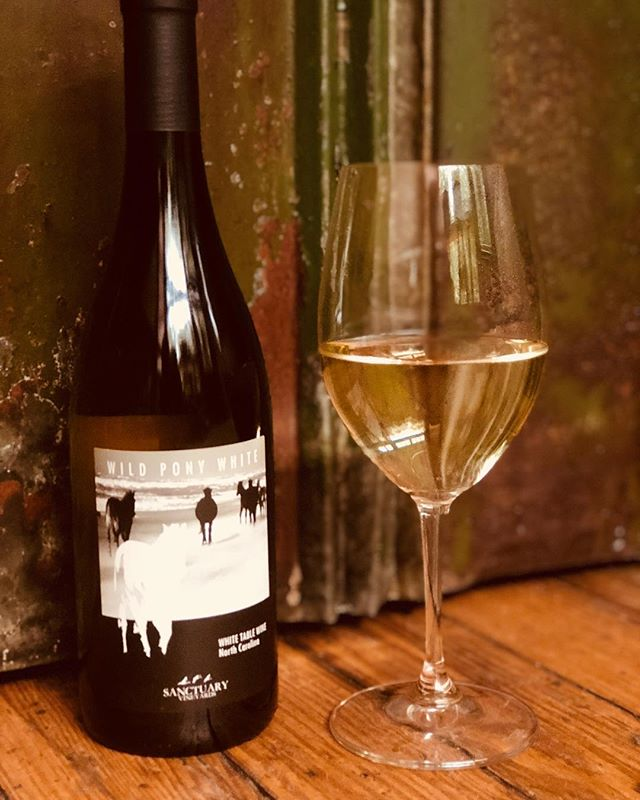 Happy Memorial Day Walnut Family and Friends! Today's feature is the Wild Pony White. This is a White table Wine from North Carolina. Come in today and enjoy this Citrus semi-dry white wine on special for $7/glass and $25/bottle. #asheville #828isgreat #downtownavl #supportlocal #5walnutwinebar #5walnutcheesebar #avleats