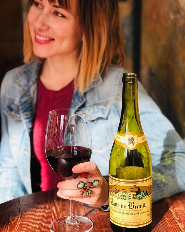 Happy Saturday From The Walnut Gang.  Let's talk wine: •Domaine du Pavillon de Chavannes - Gamay •Burgundy, France •Light, Fruity, and Festive •2016 •$14/$55  #asheville #5walnutwinebar #5walnutcheesebar #supportlocal #love #828isgreat #downtownavl #avleats