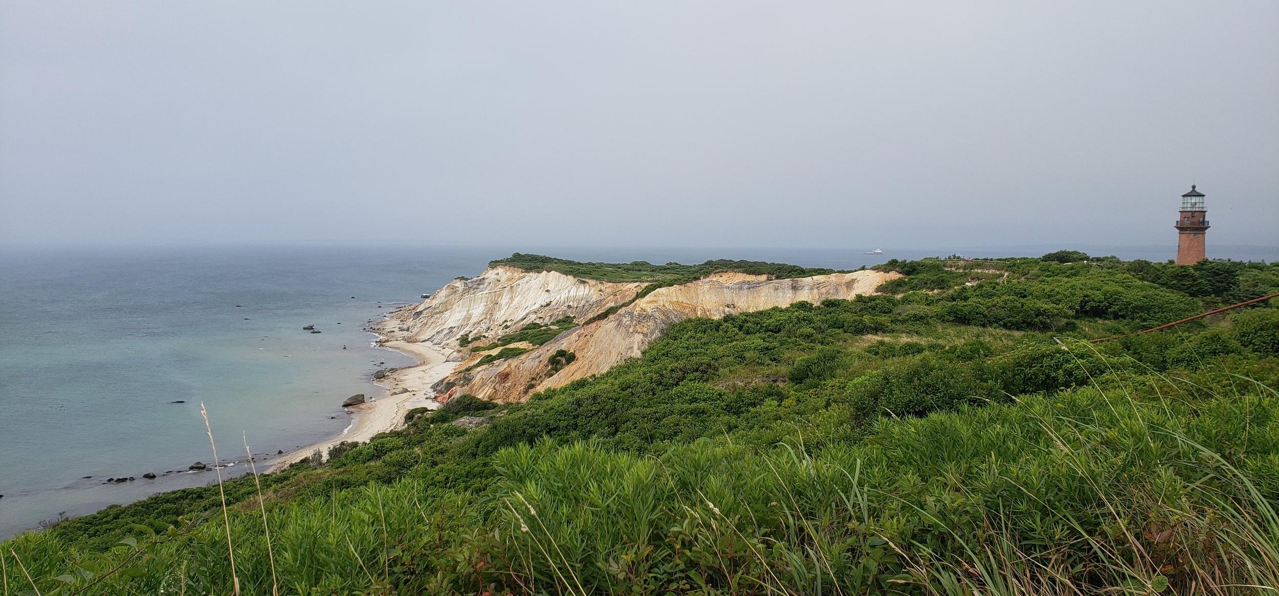 Gay Head Cliffs; 2018