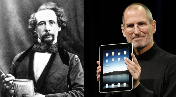 Charles Dickens and Steve Jobs Tell Us How To Boost Creativity